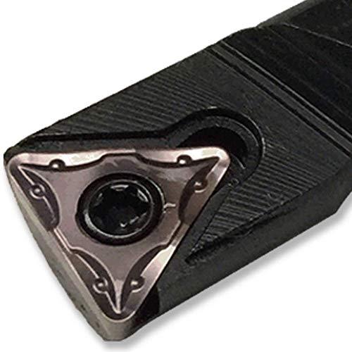 Maifix S25S-STFCR16 Torneado CNC Mecanizado Barra de 25 mm TCMT Carburo Insertar Cortador Portaherramientas Mandrinado Herramientas de torneado interno