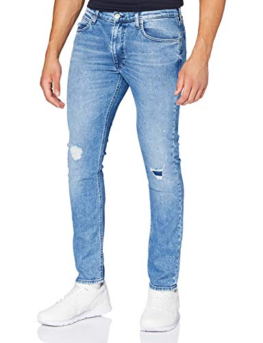 Lee Herren Luke Jeans, Blue Trash 3CC, 33W / 34L