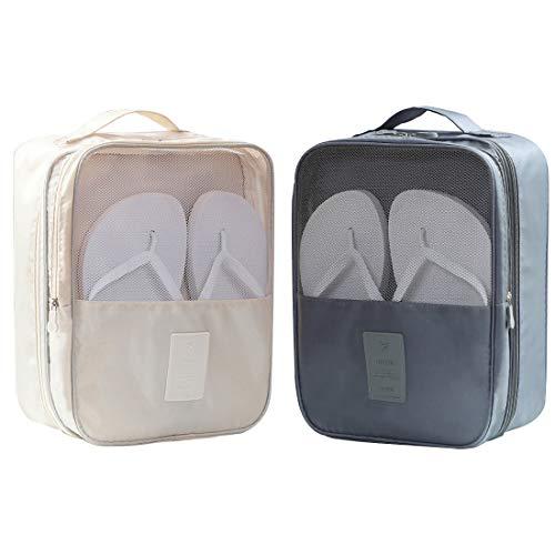 Borse portascarpe da viaggio impermeabili, per 3 paia di scarpe, unisex