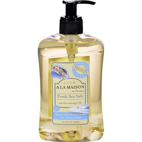 Hand and Body savon, sel de mer frais - A La Maison de Provence