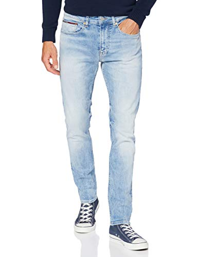 Tommy Jeans Herren Austin Slim Crlbst Hose, Denim, W32/L30