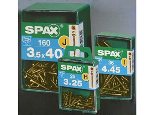 SPAX L - Tirafondo Bicromatado Cp Spax L 4,5X40 Mm