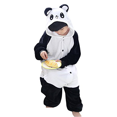 Amurleopard Pyjama enfant Deguisement cosplay Combinaison Unisex Panda XXL