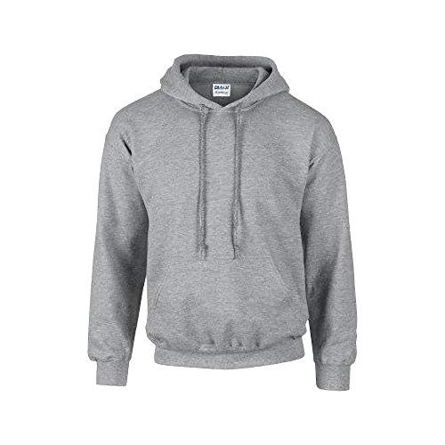 GILDN heren capuchontrui Adult 50/50. Hooded Sweat/18500, effen