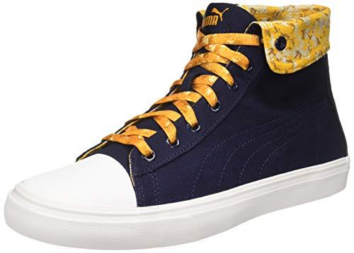 Puma Unisex's Sunflower-Buckthorn Brown-Whisper White Sneakers- 9 UK/India (43 EU) (4059507763785)