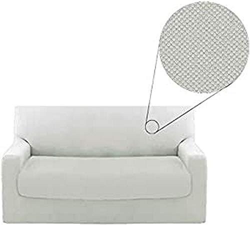 Funda para sofá de 2 plazas Genius Biancaluna de 140 a 180 cm.
