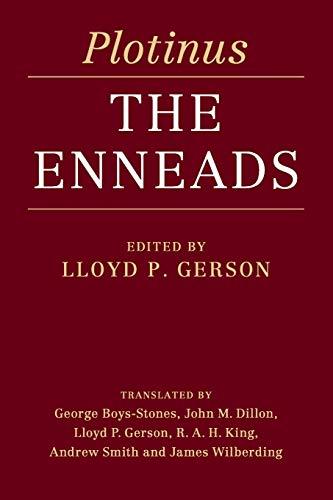 Plotinus: The Enneads