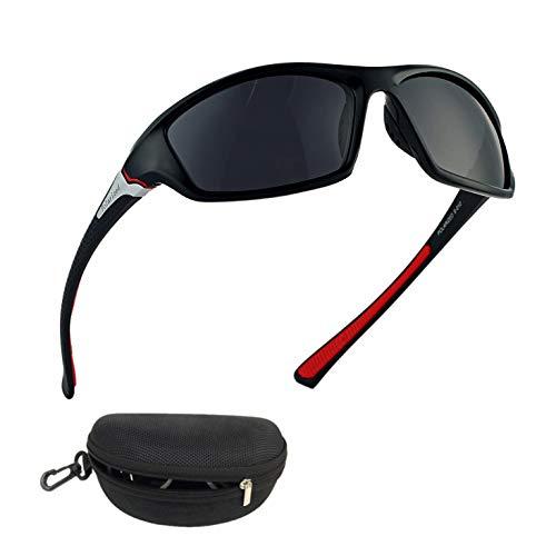 Flybiz Gepolariseerde sport heren & vrouwen zonnebril voor skiën rijden golf running fietsen, duurzaam superlight frame ontwerp, hoge kwaliteit mode bril, anti-glans UV400 bescherming