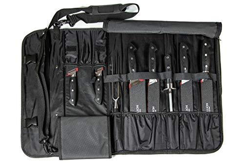 Stallion Professional - Messertasche mit Messerschützern (Stulpen)