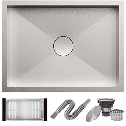 ALTON HMS25030 Kitchen Sink, Matte Finish