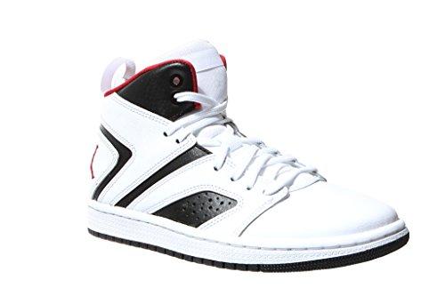 Nike Kinder Jordan Flight Legend (GS) Weiß Leder/Synthetik Sneaker 40