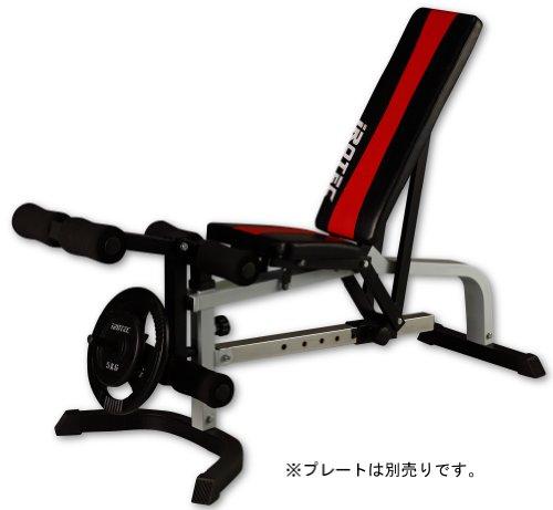 IROTEC(アイロテック)マルチポジションベンチ/上半身だけでなく レッグエクステンションで大腿四頭筋を効果的に鍛錬/インクラインベンチ トレーニングベンチ
