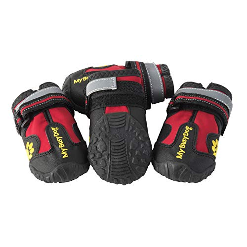 My Busy Dog Water Resistant Dog Shoes with...