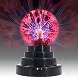 USB/Batería de Energía Táctil Sensible Bola de Plasma Mágica Lámpara de Esfera Globo de la Novedad Juguete Decoración del Hogar Luz