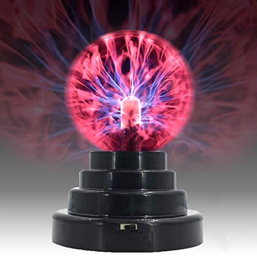 USB/Batteria Potenza Tocco Sensibile Plasma Palla Magica Plasma Lampada Sfera Globo Novità Giocattolo Decorazione Della Casa Luce