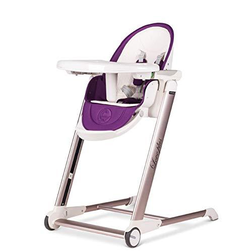 Chaise de salle à manger multi-fonctionnelle pour enfants portable pliante table de bébé chaise de salle à manger chaise de bébé réglableE