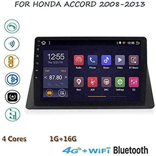 "QXHELI 9 ""Auto-Stereo GPS Navigation Android 8.1 Für Honda Accord 2008-2013 Touch Screen Mirrorlink Freihändige Anrufe Autoradio SWC DAB + USB MP5"