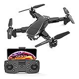 GZTYLQQ Dron 4K de cámara Dual de Alta definición, cuadricóptero con trayectoria de Vuelo, Modo sin Cabeza y 25 Minutos de duración de la batería