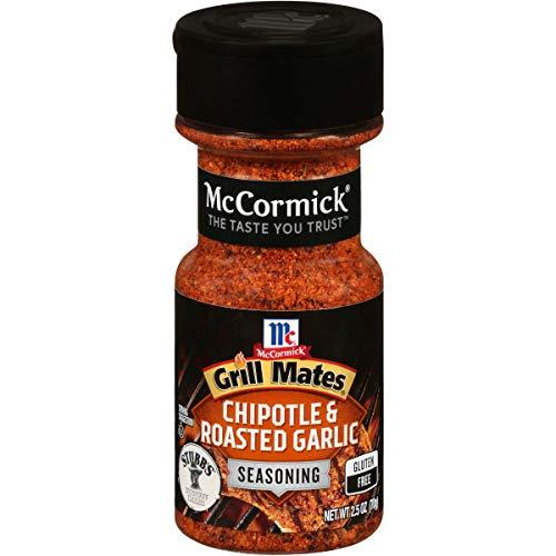 McCormick Grill Mates Chipotle & Roasted Garlic Seasoning, 2.5 oz