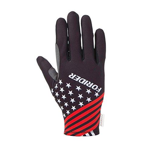 DXG&FX zomer fietshandschoenen volledige vinger fietshandschoenen lange mountainbike handschoenen voor mannen en vrouwen Rij-apparatuur