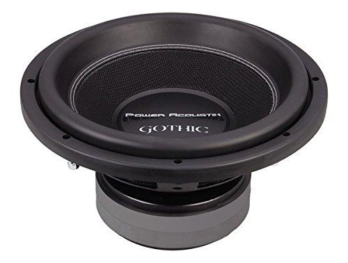 """Power Acoustik GW3-12 Gothic Series 2Ω Dual Voice-Coil Subwoofer (12"""", 2,500 Watts)"""