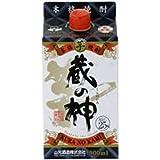 山元酒造 蔵の神パック 芋焼酎 25度 900ml