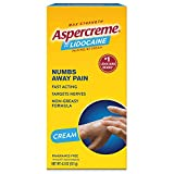 Aspercreme with Lidocaine Maximum Strength Pain Relief Cream, 4.7 oz.