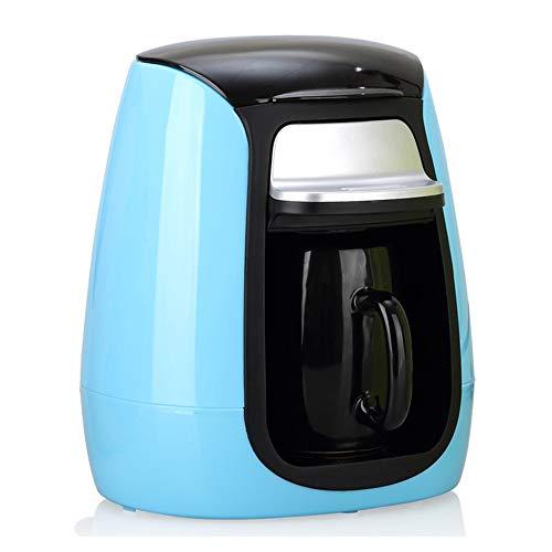 Mini Volautomatische Koffiemachine, Antislip, Zorgt Voor Een Nauwkeurige Watertemperatuur En Gelijkmatige Afzuiging, Bediening Met één Druk Op De Knop, Automatische Uitschakeling,Blue