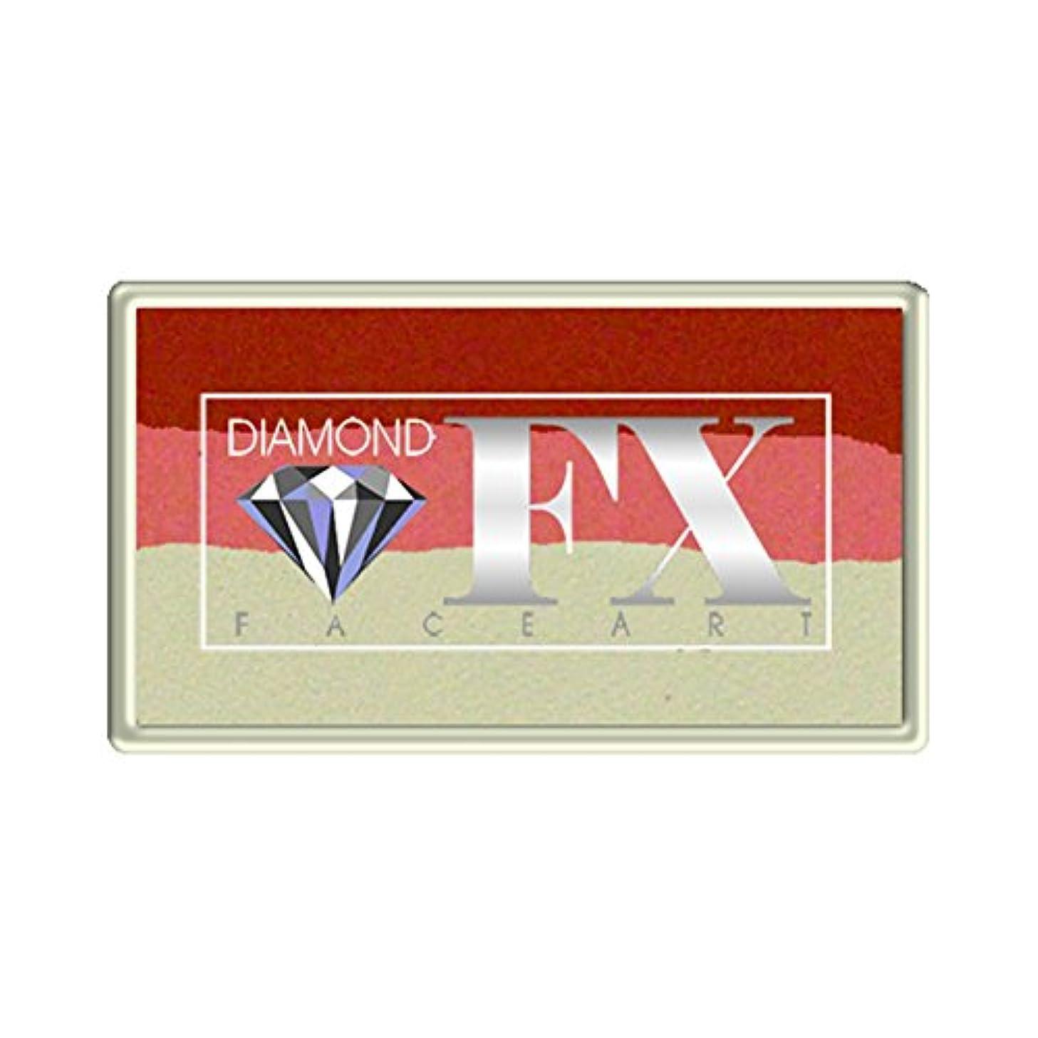 Diamond FX Split Cake, 28 gm - Small Strawberry Delight