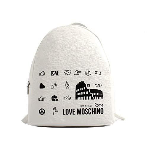 Moschino ZAINO LOVE ECOPELLE MOD. CITY LOVERS BACKPACK ROMA COLORE...