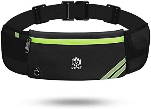Running Belt Waist Pack Bag, Workout Fanny Pack, Bounce Free Jogging Pocket Belt - Travelling Money Cell Phone Holder for Running Accessories for iPhone 11 12 Pro Max