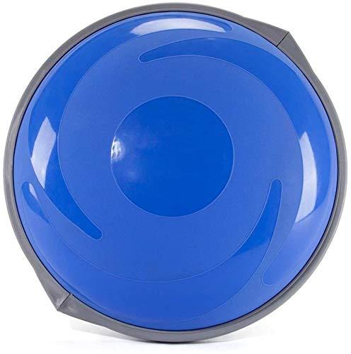Dameng Wave-Speed Ball Halbkreis Balance Ball Eindickung Explosionsgeschützte Yoga-Kugel Fitness Ball Weight Loss Training Inflatable Balance Ball,C