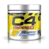 Cellucor C4 Ripped Pre-Workput Booster Trainingsbooster Bodybuilding 165g (Tropical Punch - Tropische Früchte)