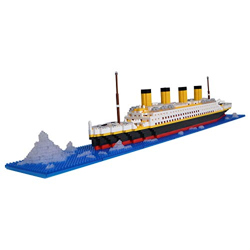 LULUFUN Titanic Ship Model Build...