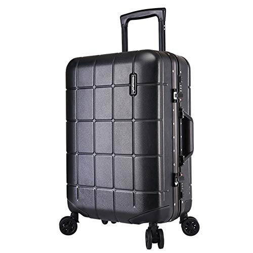 Suitcase Aluminum Frame Rotator Rod With TSA Lock Hard Shell Lightweight Portable Column Luggage Mute Rotator Multi-directional Wheel Travel Luggage Case (Color : Red, Size : 20inches)