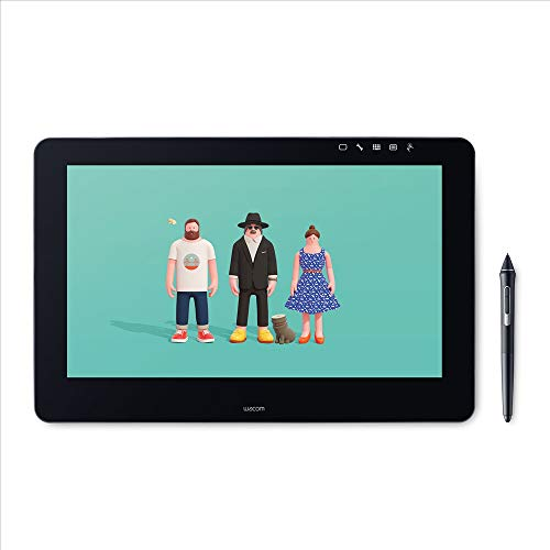 Wacom Cintiq Pro 16 Stift-Display Tablet (mit 4K, integriertem Standfuß. Pro Pen 2, Link Plus Adapter, für professionelle Künstler & Designer, mit Touchscreen, geeignet für Windows & Mac)