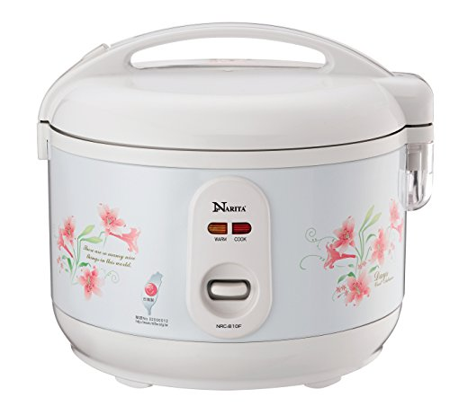 Narita Deluxe Rice Cooker (6 Cup Uncooked) (2-12 Cooked)