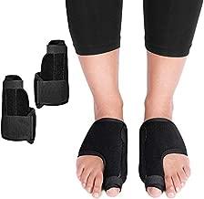Bunion Corrector and Bunion Relief - Orthopedic Bunion Splints Big Toe Straightener for Hallux Valgus - Elastic and Adjustable Turf Toe Brace Effective Treatment for Women and Men
