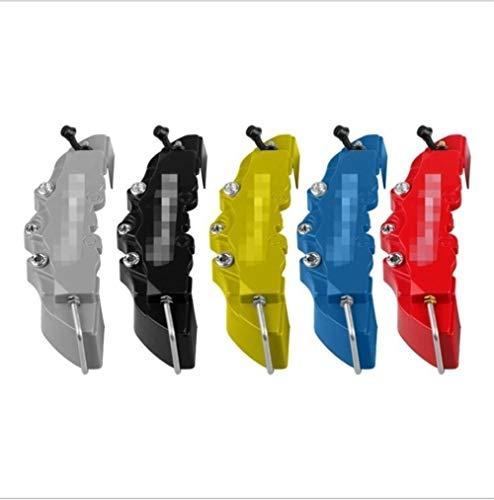 KUANGQIANWEI Bremssattel Abdeckung Auto-3D-Bremssattel Hülse Bremsscheibe Dekoration Sattelabdeckung Caliper Abalone Abdeckung Universal-modifizierte Shell (Color : Yellow, Size : 20 * 5.5 * 4cm)