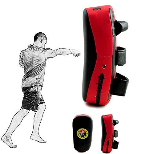 Cheaonglove Pratzen Kampfsport Handpratzen Stanzen Treten Palm Pad Sparring Pads Boxen Körper Pad Thai Pads Kampfkunst Pads Boxen Ausrüstungen red,1pc