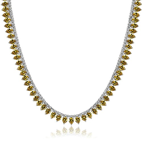 Blisfille Joyería Colgantes Collar Oro Blanco Diamante y Colgantes de Mujer de Plata para Mujer Adolescente Niña Pequeña Mamá
