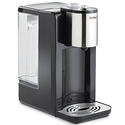 VonShef Hot Water Dispenser Instant Kettle/Catering Urn Black 2.2L Variable Temperature – Fast Boiling Water – 2600W – Easy Pour Machine