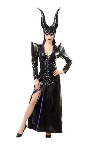 Charades Women's Witchy Woman Costume Set, Black, X-Large