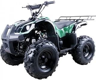 Saferwholesale Coolster 125cc Mid Size Semi Automatic Utility ATV Four Wheeler - ATV-3125XR8-S - Wheelbase 37.8 inches - Front Brake Hub Brake