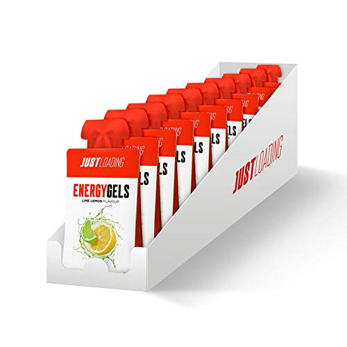 Just Loading - Geles Energéticos con Cafeína Lima Limón 30 x 30 g