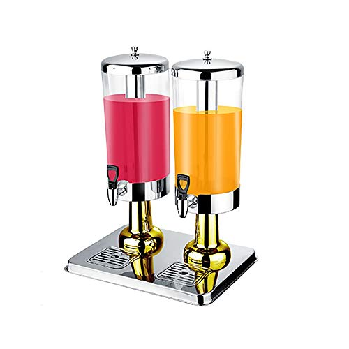 3L/6L Beverage Dispenser With Ice Core And Stainless Steel Faucet, PC Cold Drink Machine, Stainless Steel Cover, For Water, Juice, Beer, Wine, White Wine, Best Cold Drink ++