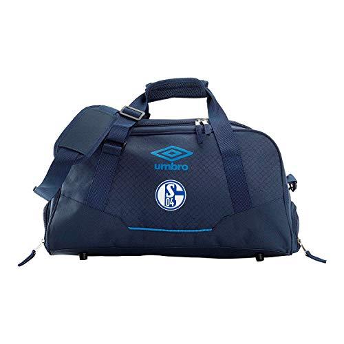 Umbro FC Schalke 04 - Sporttas zonder bodemvak Team Bag GX9-35435U Navy/blauw