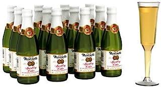 Martinelli's Gold Medal Sparkling Apple Cider, 8.4 oz Pack of 12 Bottles