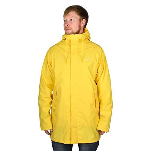 Cleptomanicx Jacke Don (Yellow) M