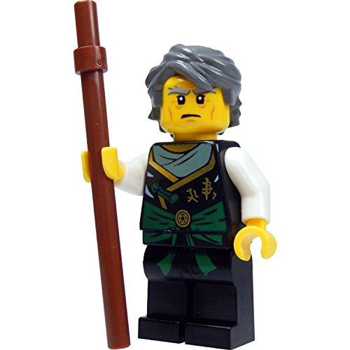 Ninjago Lego Minifigur Sensei Lord Garmadon (aus Baukasten 70750) mit Stab